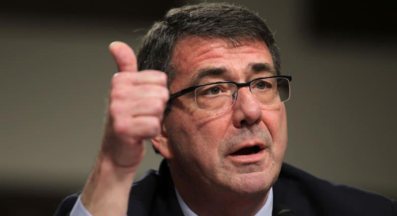 وزير الدفاع الأمريكي: النجاح هو المهم في عملية طرد داعش واستعادة الموصل وليس التوقيت