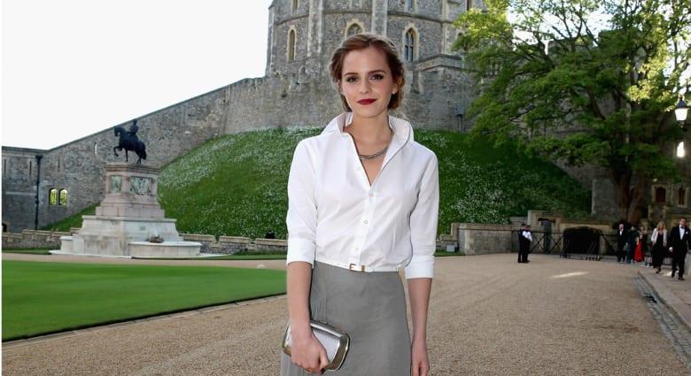 """الممثلة ايما واتسون تكذب شائعات مواعدتها الأمير هاري وتؤكد """"أنا أميرة وكذلك كل الفتيات"""""""