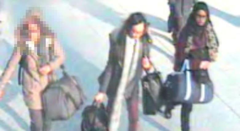 شرطة لندن ترجح عبور المراهقات البريطانيات الثلاثة الحدود التركية إلى سوريا