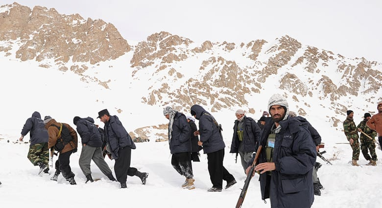 أفغانستان: انهيارات ثلجية تتسبب في مقتل وجرح العشرات