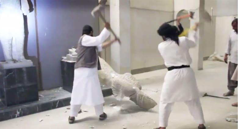 """""""يونسكو"""" تستنكر تحطيم داعش آثارا عراقية وتدعو مجلس الأمن لاجتماع طارئ"""