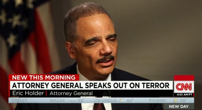 """المدعي العام الأمريكي لـ""""الجهادي جون"""": سنعثر عليك.. ولا استبعد تدخلا بريا أمريكيا في سوريا"""