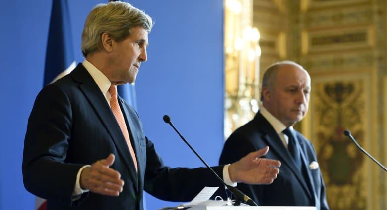 كيري: مجموعة (5+1) ملتزمة جدياً بمنع إيران من حيازة أسلحة نووية