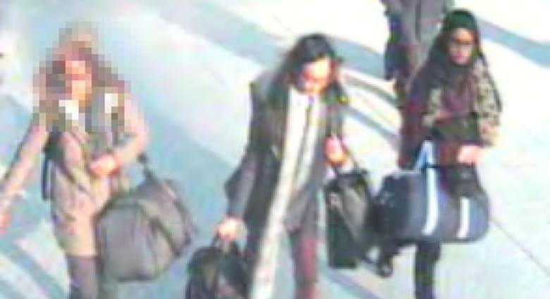 تركيا: اعتقال شخص يعمل لمخابرات دولة بالتحالف ضد داعش ساعد 3 فتيات بريطانيات يُعتقد بدخولهن لسوريا