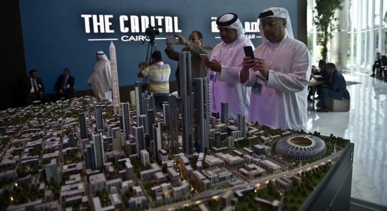 """""""العاصمة"""".. مدينة جديدة بمصر بـ45 مليار دولار تعادل مساحة سنغافورة و4 أضعاف واشنطن"""