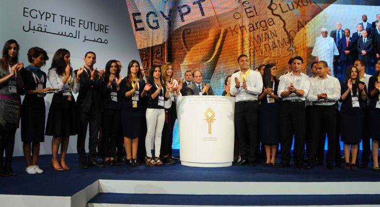 """السيسي في ختام مؤتمر شرم الشيخ: المصريون قادرون على """"تغيير ثالث"""" ونحتاج 300 مليار دولار للتنمية"""