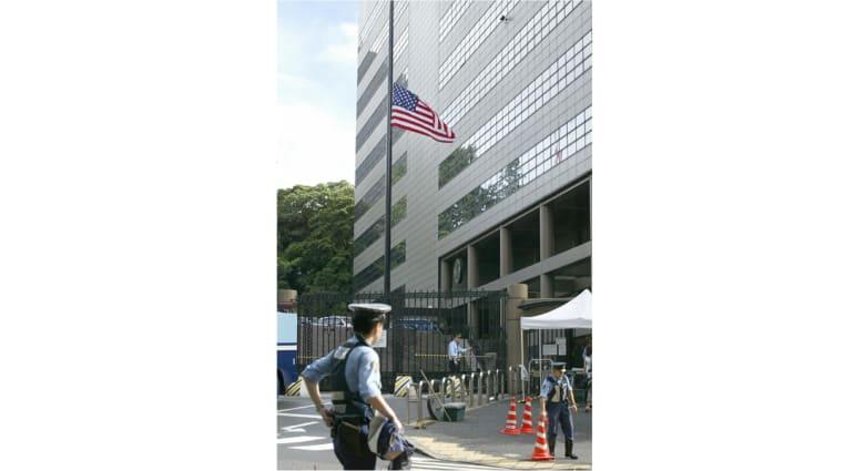 الشرطة اليابانية لـCNN: اعتقال شخص اعترف بإجرائه مكالمات هاتفية مهددا بتفجير السفارة الأمريكية بطوكيو