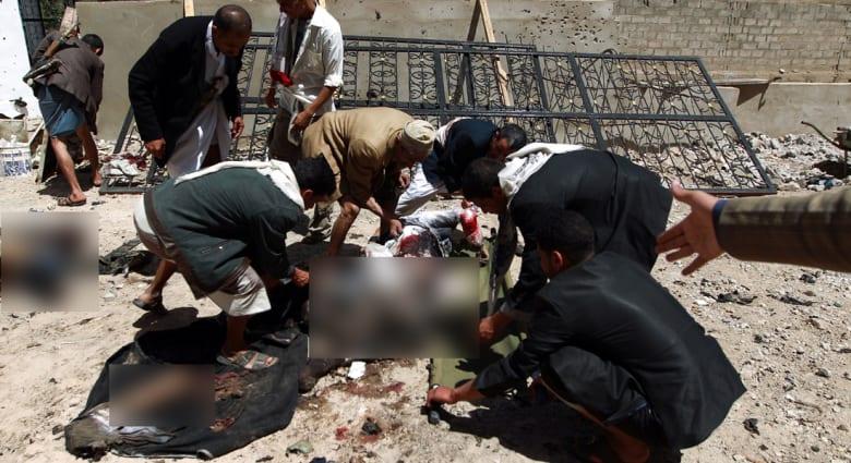 وكالة أنباء سبأ المدارة من قبل الحوثيين: منفذو هجوم صنعاء تظاهروا بالإعاقة ليخفوا المتفجرات