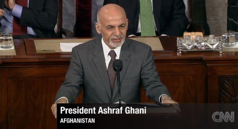 الرئيس الأفغاني أمام الكونغرس: داعش يرسل عناصره لبلادنا لاختبار مواطن ضعفنا