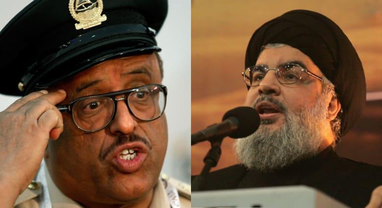 """خلفان مهاجما نصرالله: """"عدو الله"""" يكذب.. واكتشفت أنه """"غبي جداً"""" و """"إيراني الهوى"""""""