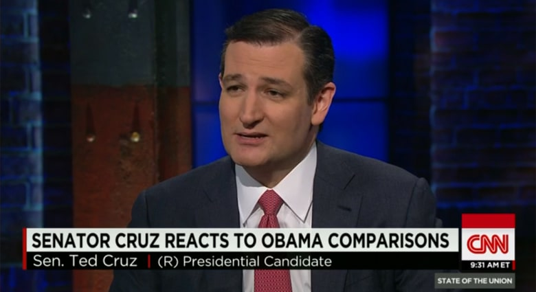 المرشح الرئاسي الأمريكي تيد كروز لـCNN: أوباما كان مغمورا بالكونغرس وأنا كنت محام عام بتكساس