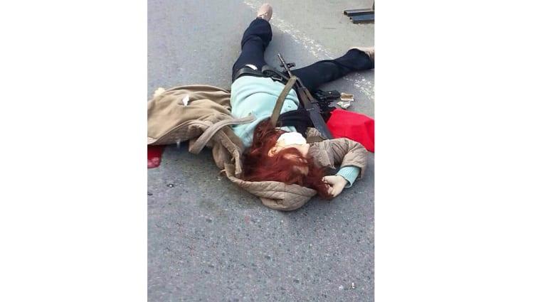 تركيا: مسلحان يقتحمان المقر الرئيسي للشرطة بإسطنبول والأمن يقتل امرأة قبل تفجيرها لقنبلة