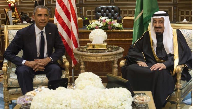 العاهل السعودي لأوباما: آمل أن يكون الاتفاق مع إيران ملزما ويعزز الاستقرار في العالم