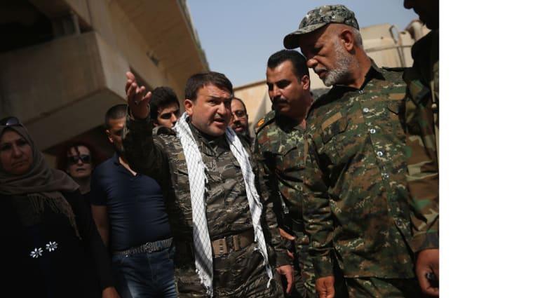 """فرقتان تحشدان لتحرير نينوى وصد هجوم لـ""""داعش"""" بالأنبار وحرمانه من أموال المعابر"""
