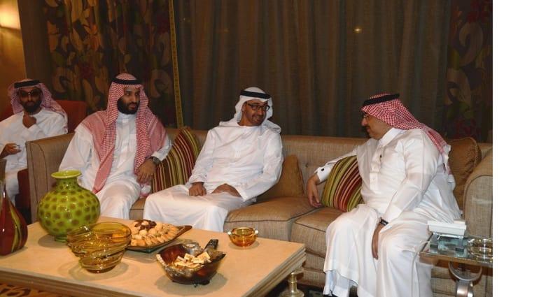 وفد إماراتي يضم 5 من أبناء الشيخ زايد ومسؤولين عسكريين وأمنيين يختتم زيارة للرياض