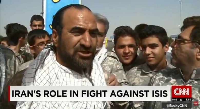 قائد بقوات الباسيج الإيرانية لـCNN: لم ندخل المعركة ضد داعش للآن.. ولو طلب ذلك القائد الأعلى لدخلنا ودمرناهم بالكامل
