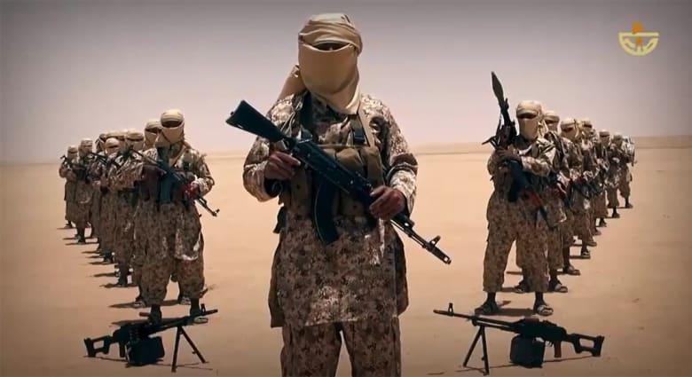 داعش ينشر فيديو يزعم أنه لعناصره في اليمن: جئناكم يا حوثة بالقتل
