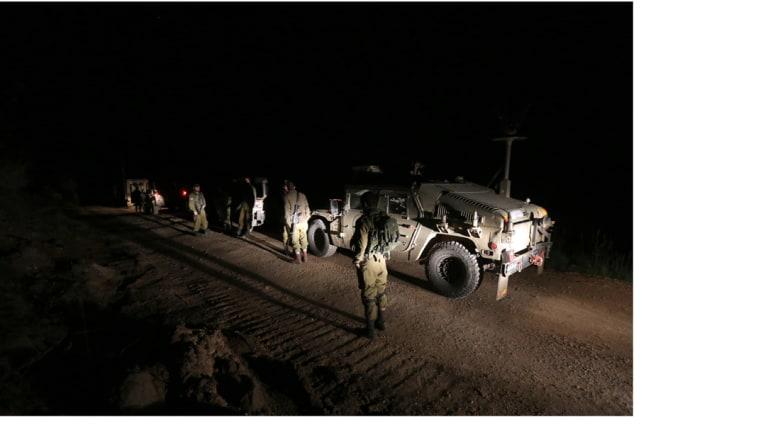 الطيران الإسرائيلي يغير على متسللين من سوريا حاولوا زرع عبوات ناسفة في الجولان