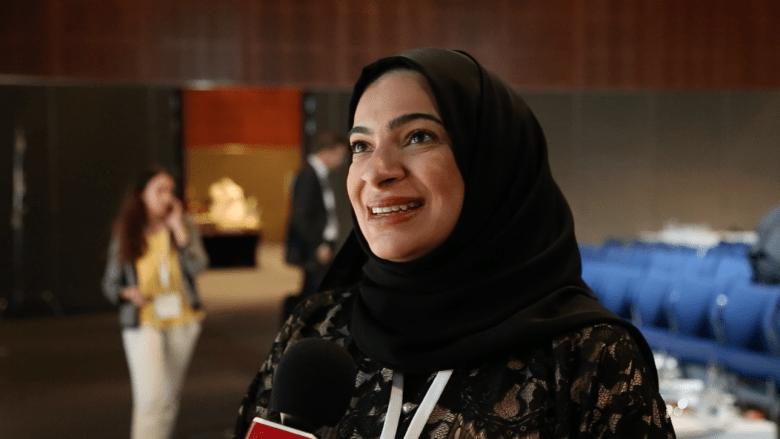 لبنى قاسم لـCNN: المرأة الخليجية تدير ثرواتها بامتياز.. الدين ليس عائقا وكنت المحجبة الوحيدة بين آلاف المحامين ببريطانيا