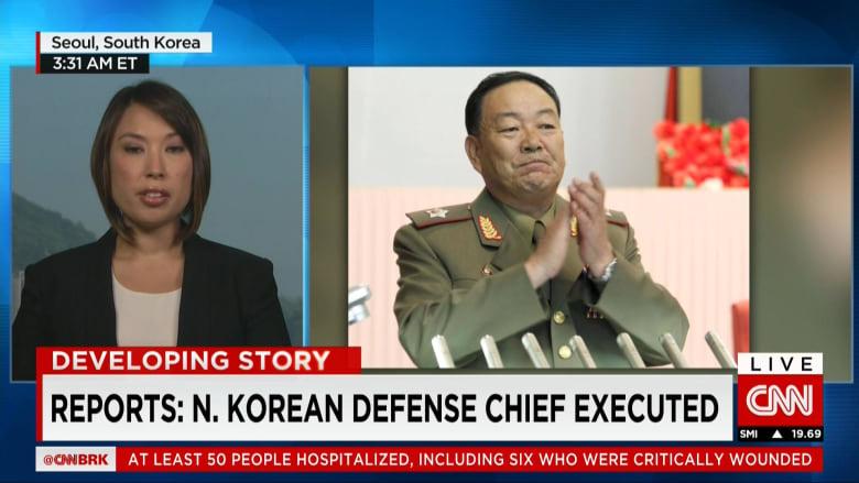 """زعيم كوريا الشمالية يعدم وزير دفاعه بساحة عامة وبمدفع مضاد للطائرات بعد تقارير عن """"نعاسه"""" باجتماع رسمي"""