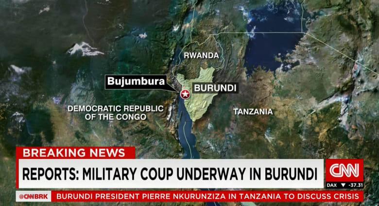 تقارير عن انقلاب عسكري في بوراندي بأفريقيا ومخاوف من عمليات تطهير عرقي