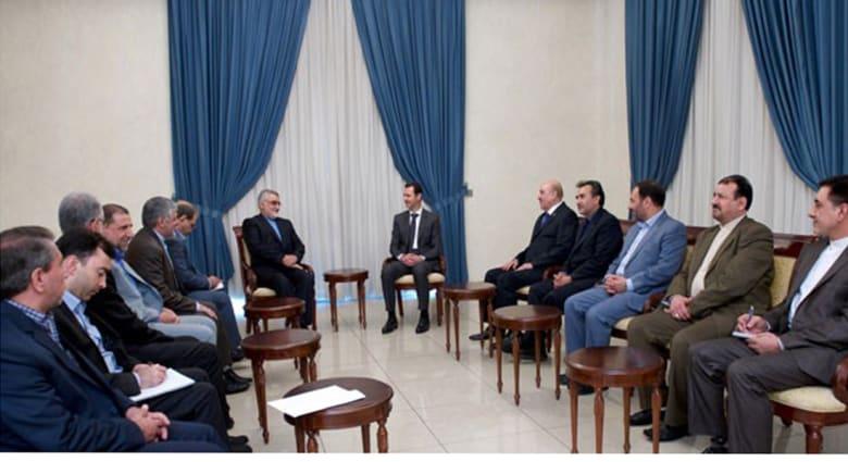 علي مملوك بجانب الأسد مع بروجردي .. نفي لشائعات اعتقاله وتأكيد لموقف طهران مع دمشق