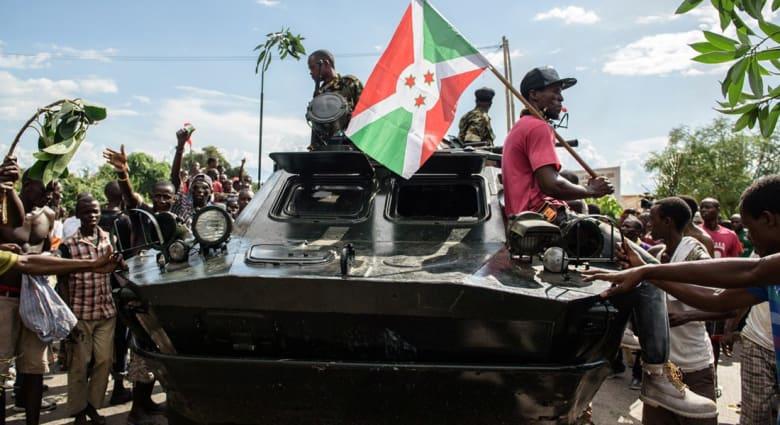 بوروندي.. الحكومة تؤكد استسلام قادة محاولة الانقلاب وعودة الرئيس نكورونزيزا