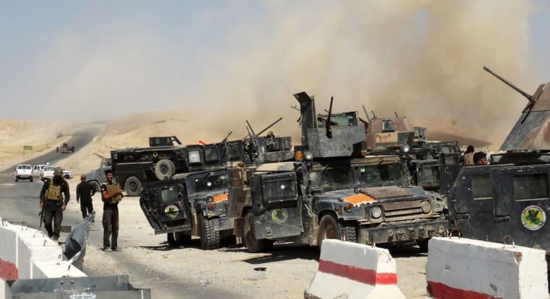 العراق.. داعش يستولي على الرمادي ويرفع علمه على مبنى المحافظة