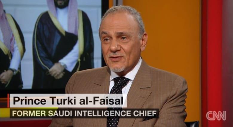 رئيس الاستخبارات السعودية السابق يبرر لـCNN عدم حضور الملك سلمان لكامب ديفيد ويرد على انتقادات بأن السعودية تعود للخلف
