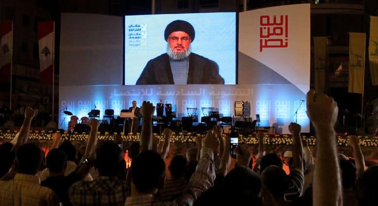 """نصرالله يهاجم السعودية والبحرين وأمريكا و""""داعش"""" في خطابه بذكرى """"النكبة"""""""