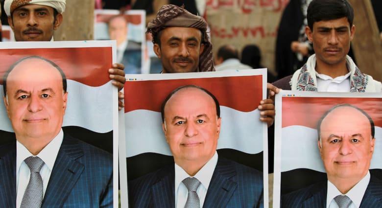"""هادي: ميليشيات الحوثي وصالح """"إلى مزبلة التاريخ"""".. وسننتصر قريبا ونعود إلى اليمن"""