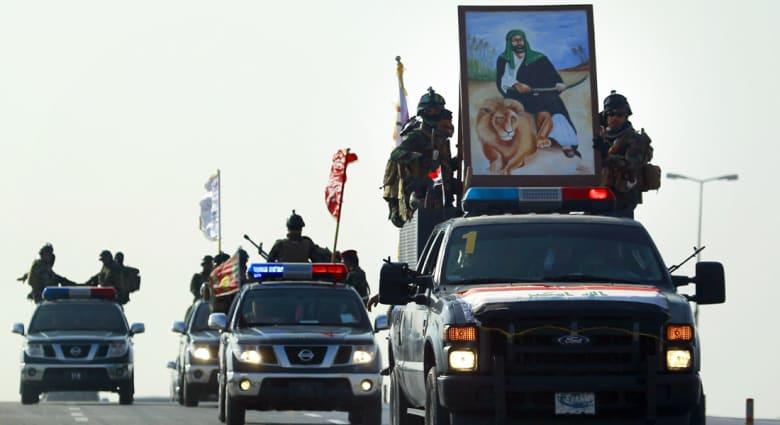 مسؤولان عراقيان لـCNN: لواء تدخل سريع ولواء شرطة ومقاتلون من الحشد الشعبي وأبناء القبائل السنية ينتظرون شرق الرمادي لإخراج داعش