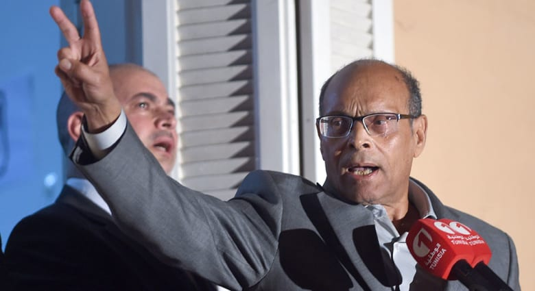 الرئيس التونسي المرزوقي يدعو السلطات المصرية إلى إيقاف حكم الإعدام بحق مرسي