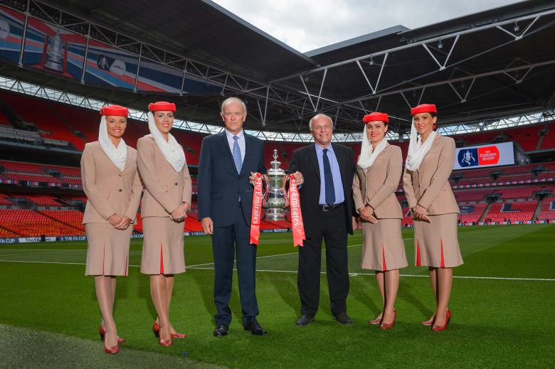 طيران الإمارات ترعى كأس الاتحاد الإنجليزي لكرة القدم لمدة 3 سنوات