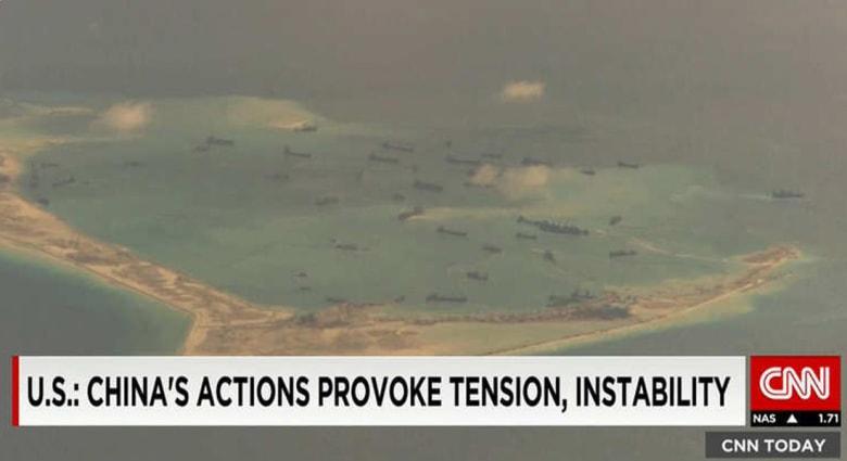 الصين تدافع عن جزيرتها الاصطناعية العسكرية وسط بحر متنازع حوله: لا نستهدف دول الجوار