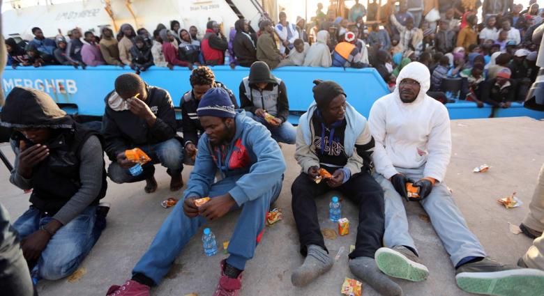 سفن أوروبية تنقذ 3480 مهاجرا سريا من الموت غرقًا قبالة سواحل ليبيا