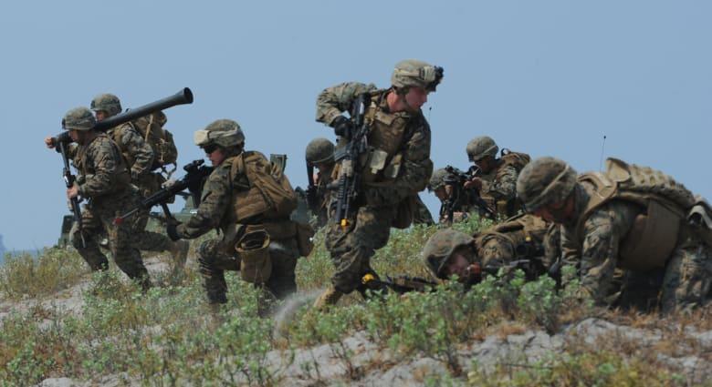 """الجيش الأمريكي ينفي تشارك قاعدة """"التقدم"""" مع المليشيات الشيعية العراقية: اشترطنا غياب عناصرهم والحرس الثوري"""