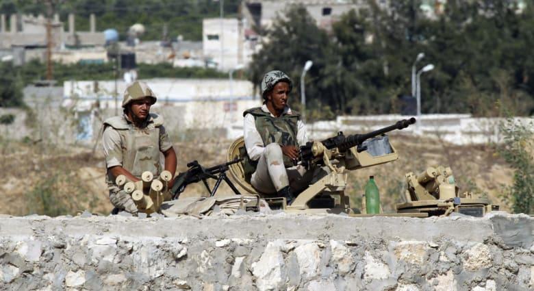 """مصر.. مقتل 11 """"تكفيرياً"""" واعتقال 4 مشتبهين في حملة على """"بؤر الإرهاب"""" بشمال سيناء"""