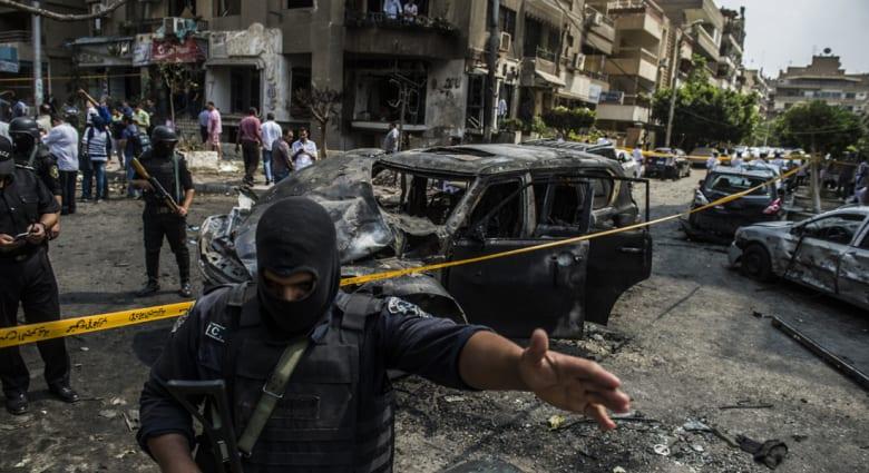 """رداً على اغتيال نائب عام مصر.. قانون لمكافحة الإرهاب ومطالبات باستبدال """"رابعة العدوية"""" بـ""""هشام بركات"""""""