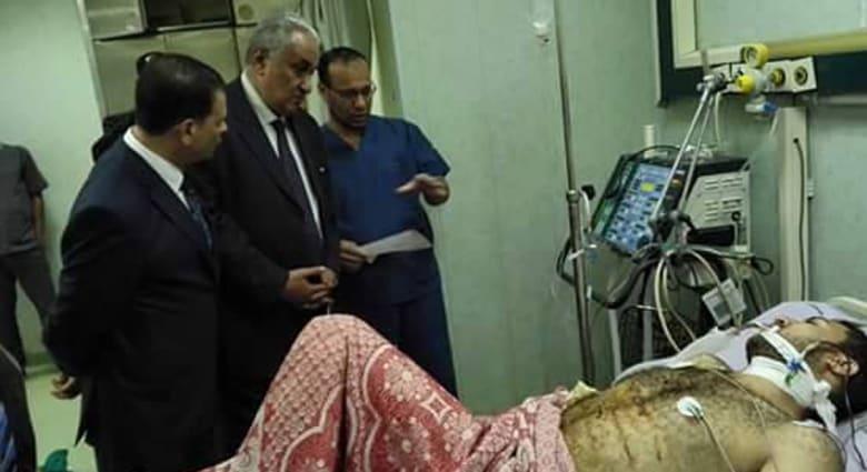 """مصر.. إضراب جزئي للمحامين بعد إصابة """"الجمل"""" وعاشور يضع دمه بـ""""رقبة"""" النيابة"""