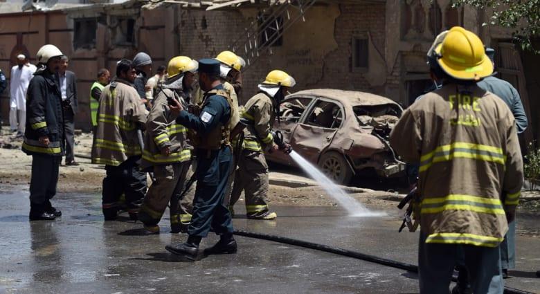 """أفغانستان.. مقتل 25 مدنياً في هجوم انتحاري قرب قاعدة أمريكية في """"خوست"""""""