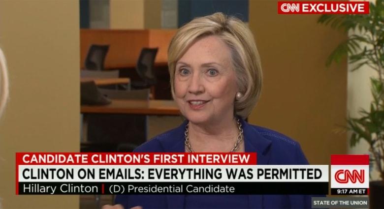 بقضية استخدام البريد الخاص.. هيلاري كلينتون لـCNN: لم أخالف قانونا بتحديد الطريقة التي أرغب بالتواصل بها