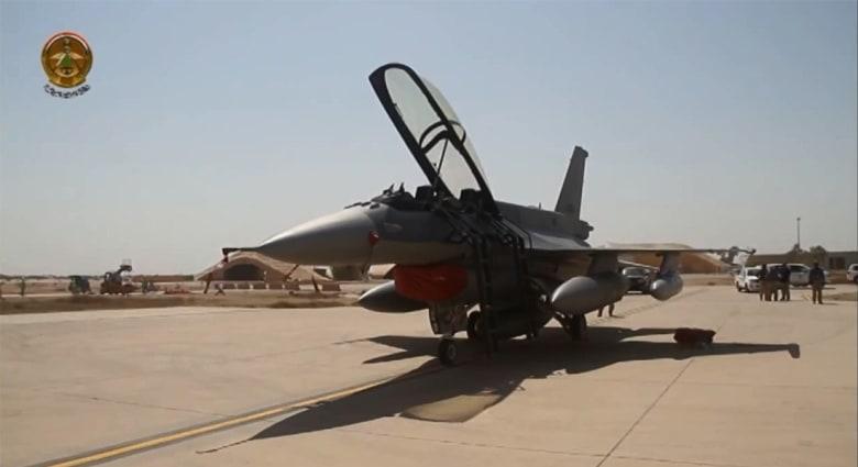 بالفيديو.. وصول مقاتلات الـF-16 الأمريكية للعراق