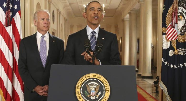 """""""أوباما"""" يتصل بالعاهل السعودي وولي عهد أبوظبي.. ويؤكد الالتزام بدعم """"الشركاء الخليجيين"""" لمواجهة إيران"""