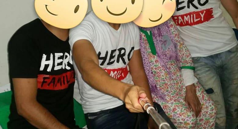Hero Family.. مغاربة اجتمعوا بفيسبوك وخرجوا إلى الواقع بأعمال خيرية