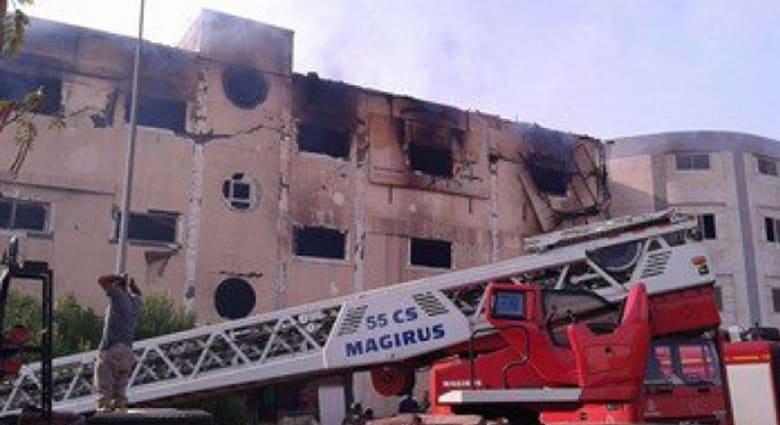 """""""كارثة"""" جديدة في مصر.. 25 قتيلاً في حريق بمصنع للأثاث بمدينة """"العبور"""""""