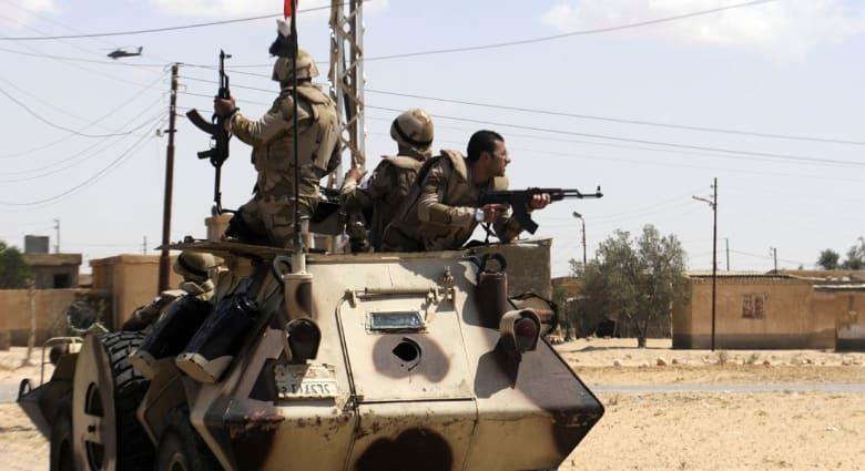 """جيش مصر يعلن مقتل 88 """"إرهابياً"""" وضبط 58 مطلوباً ومشتبهاً خلال 12 يوماً بشمال سيناء"""