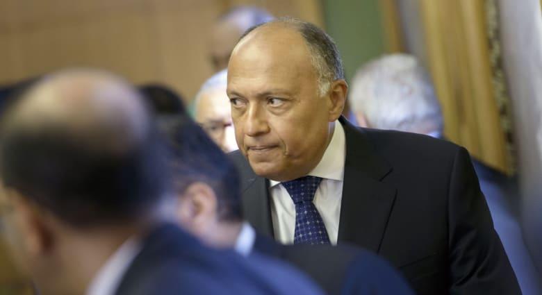 """قضاء مصر ينظر دعوى تطلب """"عزل"""" وزير الخارجية وإحالته للنيابة بتهم """"فساد"""""""