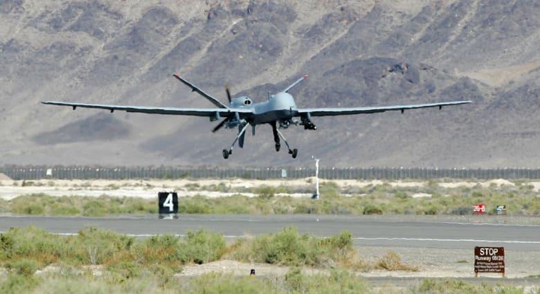 طائرة بدون طيار تنفذ أولى الغارات الأمريكية في سوريا انطلاقاً من تركيا