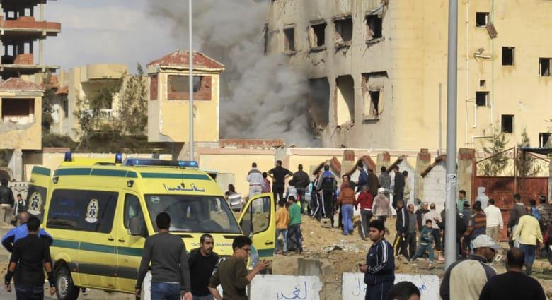 """مصر.. مقتل شرطيين برصاص """"مجهولين"""" وتنظيم """"ولاية سيناء"""" يتبنى الهجوم"""
